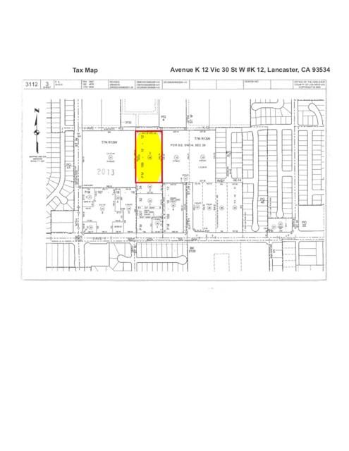 0 Vac/Avenue K 12/Vic 30 Street W, Lancaster, CA 93534
