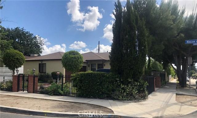 8485 Rincon Avenue, Sun Valley, CA 91352