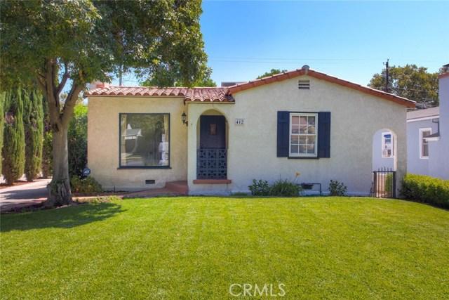 412 N Griffith Park Drive, Burbank, CA 91506