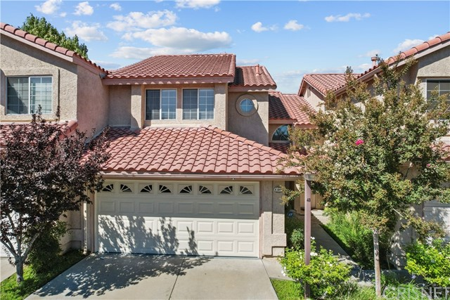 Welcome home to the highly sought out Brock Canyon Villas Community.  The second you walk through the front door you'll fall in love with the open spacious floorplan & the pride of ownership displayed throughout starting with the downstairs which has newer laminate flooring, fresh paint within the last year and a fireplace to enjoy those cozy cool evenings. The kitchen features newer stainless appliances, Quartz countertops and a walk in oversized pantry for plenty of storage space. The upstairs bathrooms feature floating sleek vanities for that modern look. In the evening you can enjoy the picturesque view of the hills right outside the front of your home which no other home in the community has. In addition the exterior is scheduled to be painted in October by the HOA. This home won't last..HURRY before it's gone!
