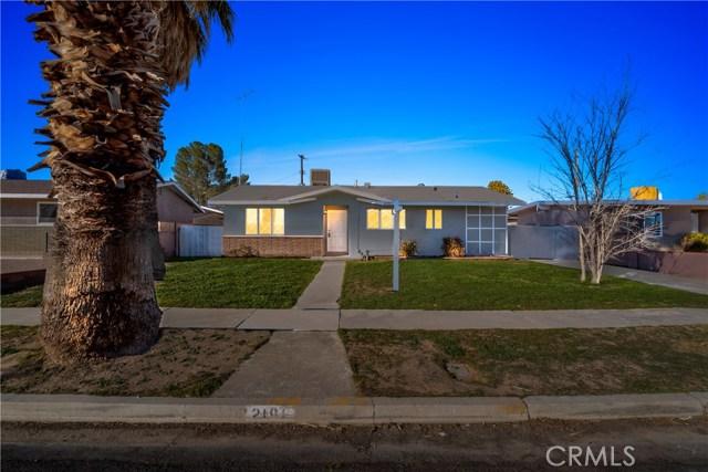 2191 Orange Street, Rosamond, CA 93560