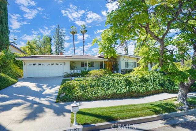 23701 Ladrillo Street, Woodland Hills, CA 91367