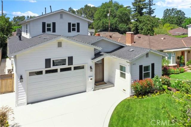419 S Griffith Park Drive, Burbank, CA 91506