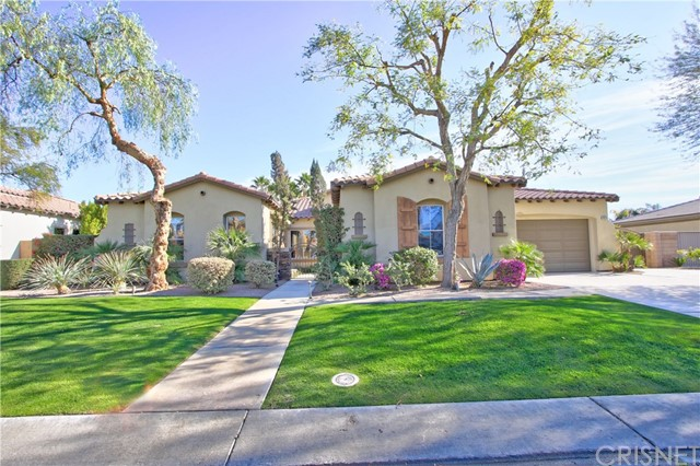 Located in the beautiful gated community of The Orchard, this wonderful home has it all. 4 bedrooms, 3.5 baths, formal dining, family room, breakfast area with 2751 sq.ft on a 13,000+ sq. ft lot. Enter through a private cozy front courtyard with fireplace, waterfall and retractable awning. Separate forma living and formal dining areas. Family room with fireplace opens to a large open kitchen with granite counters, stainless steel appliances, double oven, pantry, breakfast area and loads of cabinets and counter space. Master suite features a fabulous bath with double sinks, separate tub and shower, walk in closet. The backyard is a true ENTERTAINERS PARADISE with everything you could possibly want. A gorgeous pebble tec pool, spa with waterfall, built in BBQ area, a sand pit, covered patio with ceiling fans, fruit trees and grassy area. Additional features include dual A/C and heat systems, 3 car garage, large side yard for possible RV parking. This is a MUST SEE!!!!!