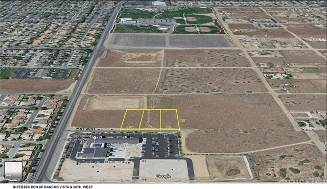0 Vac/21st Stw/Rancho Vista, Palmdale, CA 93551