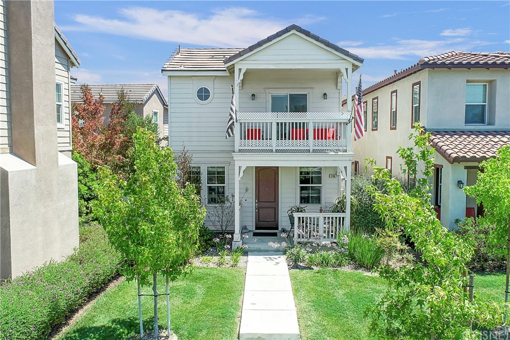 """Welcome to 706 Owens River Dr. This beautiful 3 bedroom plus loft and 2.5 bathrooms has over 1500 sq. ft. The kitchen features granite counters, stainless LG 2 years new appliances with included fridge, double oven, dishwasher, newer hardware, and is open to the dining room & family room. Downstairs features wood-like laminate flooring, recessed lighting, slider to the good-sized yard with stamped concrete, privacy trees, automatic sprinkler system, and custom lighting. Upstairs features newer wood-like laminate throughout plus three bedrooms, loft area, guest bath & laundry room with included LG 2 years new washer and dryer, plus newer tile flooring in master & guest bathrooms. Newer ceiling fans. The master features a balcony with gorgeous mountain/greenbelt/river views, a walk-in closet, a private 5 piece bathroom with a soaking tub and a separate room for the shower, plus dual sinks. Attached 2 car garage. Matching stamped concrete on the side yard. The home also has matching wood blinds on all windows and sliding doors. Located towards the back of the Riverpark with no neighbors across and away from all the entering and exiting traffic. You're walking distance to the """"Collection"""" which is the Shopping/Dining/Entertainment complex that includes Whole Foods, REI, Movie Theater, Lazy Dog restaurant, and much more! Riverpark features a dog park, 9 parks, walking/biking trails, gazebos, a beautiful fountain, basketball & Tennis courts. You're not just buying a home, you're buying a lifestyle."""
