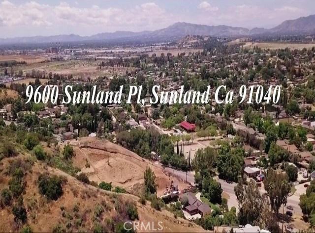 9600 SUNLAND Place, Sunland, CA 91040