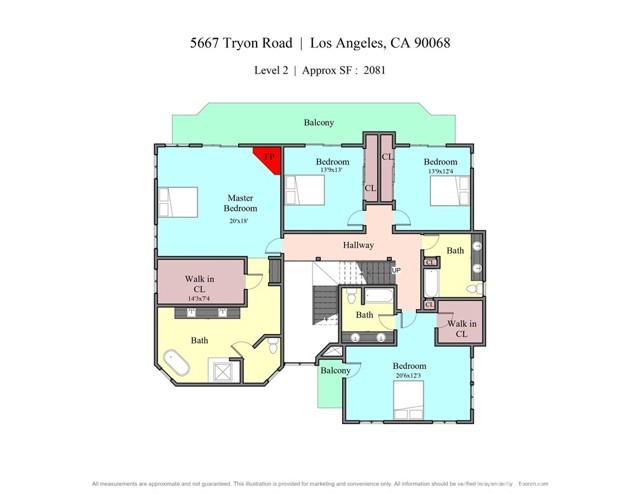 57. 5667 Tryon Road Los Angeles, CA 90068