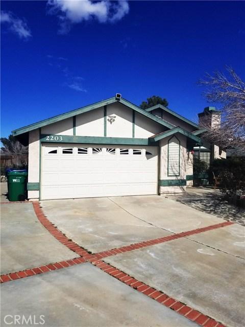 2203 Estrella Court, Palmdale, CA 93550