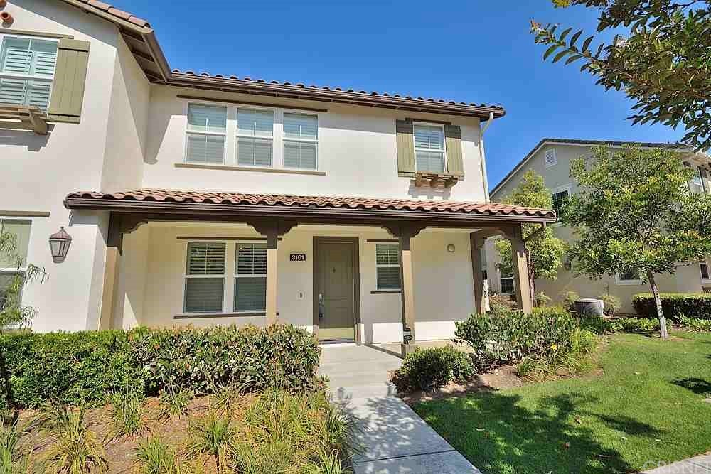 Welcome to 3161 London Lane. Turnkey 1929 Sq. Ft. 2 story Riverpark East End condo featuring 3 bedrooms (optional 4th bedroom or office) with 3 full baths with a large open floor plan. This home features laminate wood-like flooring throughout the entire home, crown molding, stainless steel appliances with included refrigerator, granite kitchen countertops, plantation shutters, and much more. Private outdoor space off the dining room which is great for that bbq or simply to relax. Upstairs there is the primary bedroom, 2 additional bedrooms, guest bathroom, and laundry room with included washer and dryer. Large master bedroom with en-suite bathroom and walk-in closet. Two car garage WITH a driveway. Enjoy A/C on those warm summer days. The Riverpark community is conveniently located near new schools including a S.T.E.A.M. school, walking trails, several parks, barbeque areas, gazebo, fountains, basketball courts, and tennis courts. Enjoy a short stroll to the recently developed Town Center with the Century Theaters, Target, Whole Foods, Yardhouse, and Cheesecake Factory. Easy access to 101 freeway. You're not just buying a home, you're buying a lifestyle.