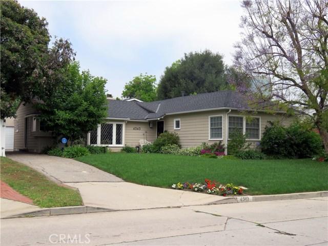 4343 Noble Avenue, Sherman Oaks, CA 91403