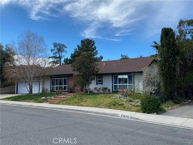 27475 Garza Drive, Saugus, CA 91350