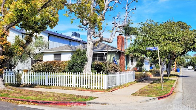 DEVELOPMENT OPPORTUNITY in the beautiful Pacific Palisades. This home is situated on the corner steps away from Sunset Blvd. Close to all the excitement. Beaches, shops, restaurants, anything you need is there for you. Don't forget the ocean breeze that makes this area priceless.