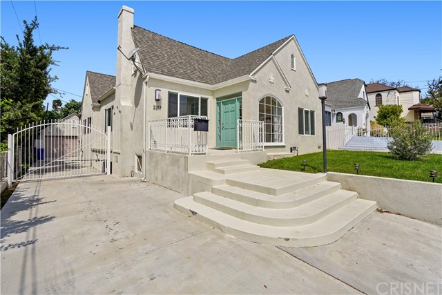 Welcome to your perfect home North of Los Feliz blvd. This 1846 sqft beauty is comprised of 3 bedroom, 2.5 bath, 7000 sqft lot, parking for 8 cars, and endless opportunities for value adds.  A detached garage: perfect for an ADU and Jr ADU, along with approx 600 sqft of unused space in the attic gives immediate value to anyone from an investor to a family looking to call Los Feliz home.  Rich in security, character, natural light, and 9ft high ceilings this home is truly a must see.  Walking distance to Los Feliz Village where all the dining, shopping, and entertainment are.  Purchase with equity now, build wealth, and live in prime Los Feliz.