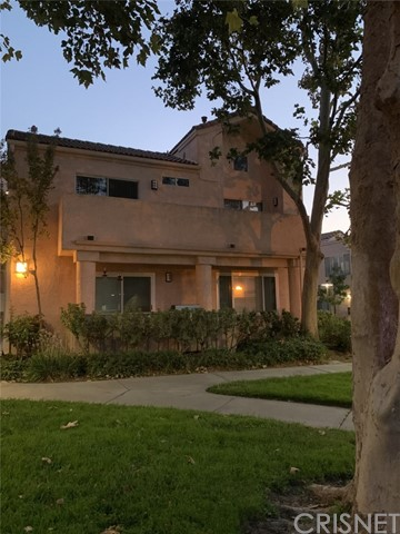 Easy Freeway Access Upper level 2+2 Condo with light and bright location Conveniently located in Santa Clarita.. The unit has Partial Canyon Views and fronts a large shady greenbelt. There is a large Guest Perking area a few steps away. The Complex has Pools, Spas, Tennis Courts and amazing Skyline views Throughout Complex.   The Unit is the Spacious 2 Masters bedroom floor Plan with the High Ceiling in Living Room. There are 2 Patios and they are accessible from Both Master Bedrooms and the Living Room. There is a Washer and Dryer in the unit.  There is a 2 Car garage and a Storage Locker for the unit.  The exterior is completing planning stage for a remodel and seller has been informed its about to start.. Easy to Show and Vacant for a Quick Escrow!