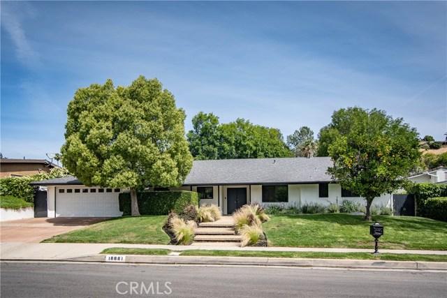 18881 Rosita Street, Tarzana, CA 91356
