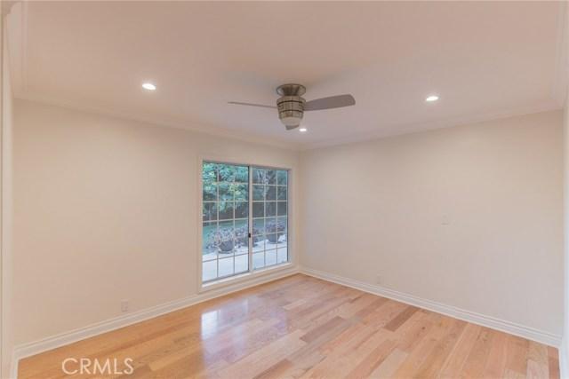 Bdrm w/View - hardwood floor