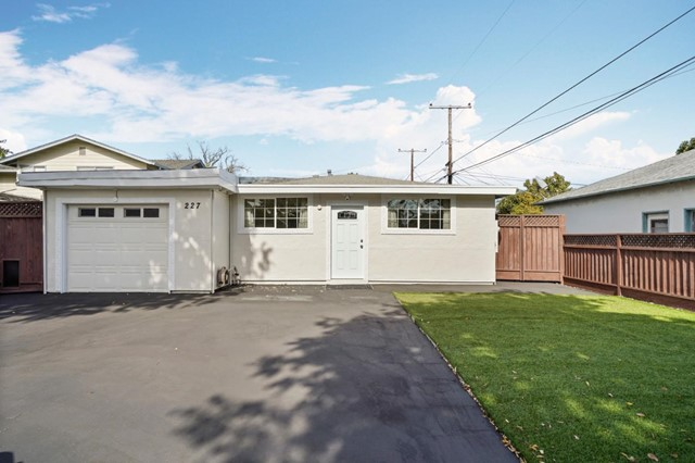 227 Garner Drive, Sunnyvale, CA 94089