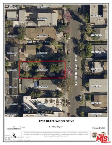 1233 N BEACHWOOD Drive, Los Angeles, CA 90038