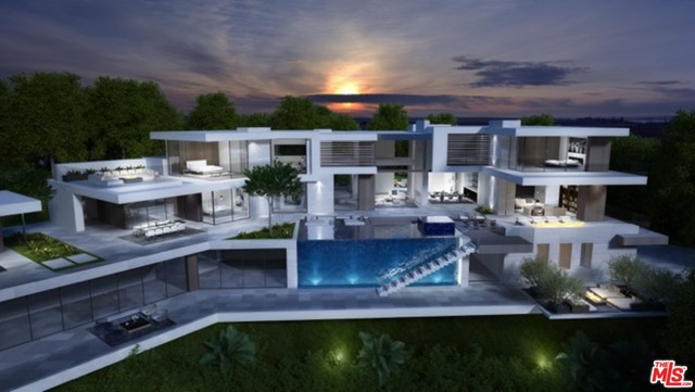 Prime opportunity in prestigious Beverly Hills with approved plans to build an approximately 13,000 square foot architectural retreat! City light views sparkle showcasing South/Western exposure towards the beach. Plans call for a two story home, pool, effortless indoor-outdoor living, plus a lower level including gym, bonus room, and more. Featuring a sizable flat lot in the coveted Crest Streets, this property is close to the heart of Beverly Hills shops, cafes and ultimate California lifestyle.