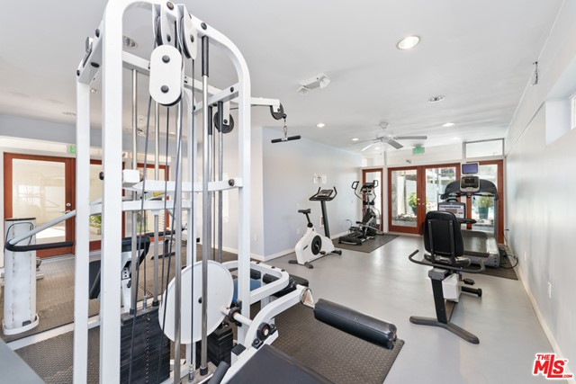 Universal workout and benches