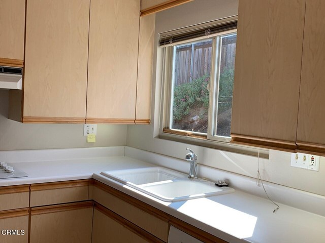 Bright window over the sink