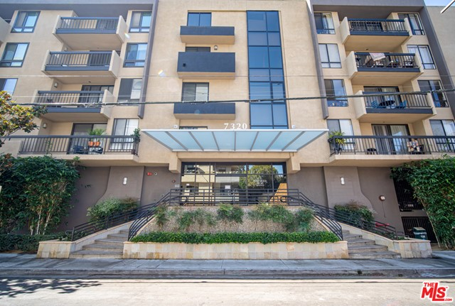 Hot modern condo w/ explosive Downtown skyline views! In one of Hollywood's more popular buildings, the Hollywood Regis, right down the street from famed Runyon Canyon, lies this designer done Jr. 1 bedroom condo. Features include a loft like open floor plan, chef's kitchen with Caesar stone counter tops and stainless steel appliances, and cool concrete like tile floors throughout. Fireplace & large walk in closet with washer/dryer combo further add to the unit.  Building features great pool and spa, cabanas for lounging, gym, & security.  Sit on your balcony and soak up the views, while being able to walk to Rockin' Ralphs, restaurants and nightlife. Great opportunity to invest in and live it up in red hot Hollywood!  See matterport tour, video tour, and supplements.  Contact agents for virtual showing event.