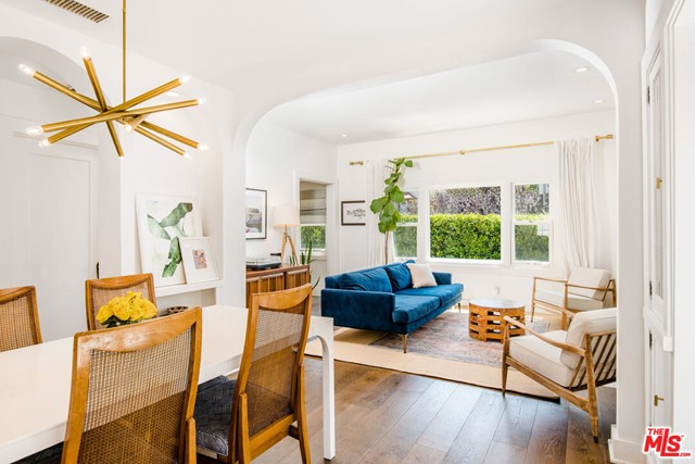 This quintessential Venice SPANISH charmer with CASITA has been updated and maintains the perfect balance of old mixed with new. Welcome to one of the best streets in Venice, 911 Superba Ave. is 3 bedrooms + 2 bathrooms + casita which has a 1/2 bath, perfect for that desirable separate work from home office or additional guest room. A formal entry with hidden storage welcomes you, and classic archways lead you through this home, which oozes with charm and has gorgeous hardwood floors, a fireplace, beautiful built-ins, and smart storage throughout. Sizable windows and French doors bring in an abundance of sunlight! The updated kitchen features Carrara marble counters, modern cabinets, wine refrigerator & a Bertazzoni 6-burner stove. Updated bathrooms feature marble, modern tiles, and a deep soaking tub. Additional features include a Nest thermostat system, Ring security system, and central heat/AC. Enjoy a cup of coffee on your front patio or a glass of wine and dinner at night on your large recently renovated Saltillo- tiled back patio. Located right next to the famed Venice walk streets, with a walk score of 88, 911 Superba Ave. is close to the beach, Abbot Kinney shops and restaurants, Barrys, and Erewhon Market. Welcome home, you will undoubtedly love this neighborhood and will fall in love with your new home each time you enter it. In a big city, you can find a great oasis and this is it.