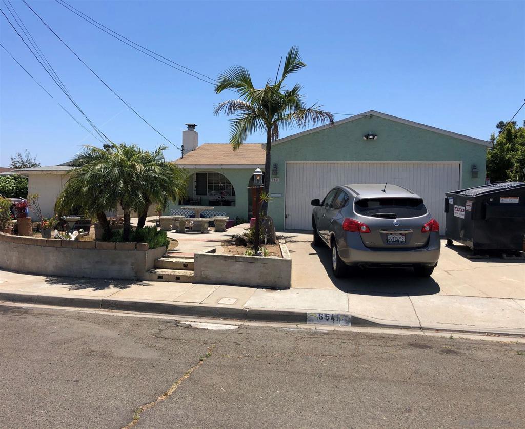 6541     Acorn Street, San Diego CA 92115
