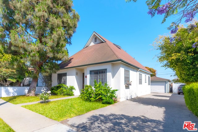 Take a look at this place...Wow! Rare opportunity & the first time on the market in 24 years!!! If you've been looking for the ultimate indoor/outdoor living space here it is! The Vibe in Venice is a 3 bedroom, 2 bathroom SFR originally built in 1947. The large usable space of this house is broken down to approximate 1,236 Sq ft + 460 square foot loft +150 ft outdoor deck. Charming to the n'th degree, this home has a blend of real hardwood floors, warm terracotta tiling, and great flow. The master bedroom is equipped with French doors that lead out to the expansive wrap around gated backyard and 2-car standalone garage providing an ideal ADU opportunity.  Host your friends in your huge A-frame loft space(*with skylight) equipped with soaring high ceilings reaching approx 13-14 ft + large storage space. This special gem is located just one block North of trendy Rose Avenue & just 2-minutes to one of LA's most iconic hangs: Abbot Kinney. This home scores a 91 on walkability: Ozone park is conveniently located a1/2 block away:  great for kids and/or your furry friend + Whole foods is around the corner for your grocery needs = ultimate convenience.   712 Machado is a place to call home, create memories, and is a true entertainer's dream...This one will not last!..(Buyer to verify all approx sq and check with city for ADU opportunity.) Drive by only...