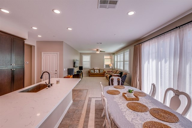 Recessed Lighting and Fire Sprinklers Thru-out.