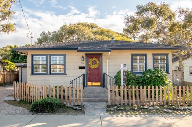 875 Sinex Avenue, Pacific Grove, CA 93950