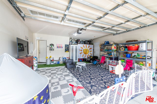 Car Garage Temporarily used as Flex Space