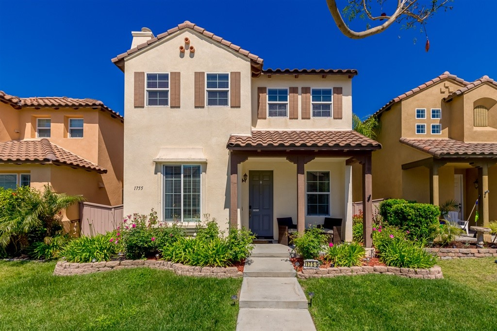 Otay Ranch Finest ! Beautiful 2166 sf upgrade home. Formal living room and dining room. Gourmet kitchen opens into spacious family room next your comfortable yard with stamped concrete. This home will satisfy the most discerning clients. Move in ready 4 beds plus loft–opt 5th bed. 3 full baths upstairs and ½ bath down stairs. Huge master bed with walk in closet. Mechanics dream garage, high ceilings, designer paint, lots of storage. Resort style Villa of Montecito Club House Pool. Award winning schools !  Amazing home in a beautiful neighborhood. Community park just a couple houses down. Close to Otay Ranch Mall with fine dining shopping and movie theater. Just minutes away form Otay Lakes recreation area, hiking trails, bike trials and the Olympic Training Center. Award wining schools. Only 25-30 minutes from downtown San Diego, Coronado Island, local beaches, Balboa Park and Sea World..  Neighborhoods: Otay Ranch Other Fees: 0 Sewer:  Sewer Connected