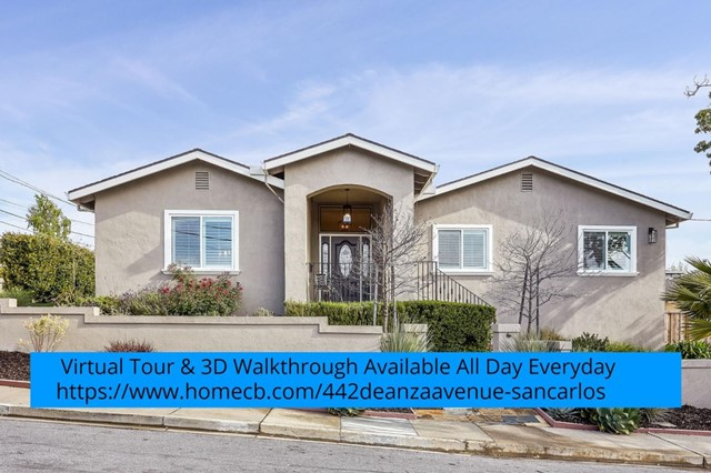 442 De Anza Avenue, San Carlos, CA 94070