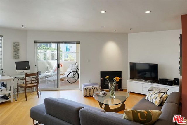 Do you remember why you moved to Southern California? Well, it may be your time to live the SoCal Dream!! This Venice Beach corner unit boasts amazing light throughout this open floor plan.  Off the Great Room, the large wrap around balcony sits above the pool and spa, making this ideal for indoor/ outdoor living and entertaining. Feel like a night swim?  You have the best and easiest access to the Pool and Spa. Original hard wood floors in the Great Room and Dining Room warm up this bright and airy space.  Kitchen has been tastefully updated with white Caesarstone  Counters, Italian Ceramic Tiles and SS Built In Appliances. Primary Bedroom has custom Shoji screen closet doors with built in CA Closets for extra storage.  Custom Bamboo and Acrylic Privacy Screens off  both Bedrooms. Light a candle and soak in the  KOHLE Soaking Tub.  Dual sinks and ceramic tile flooring round out the perfection of this Primary Bathroom. The Guest  Bedroom has the perfect patio for your Peleton or exercise area.  Fall out of bed and land at the Rose Cafe, Forma, The Anchor and so much more.   Your friends won't want to leave! Oh did we forget to say 1 block from the Beach?  Venice Living at its Absolute Best!  PRICED TO SELL!