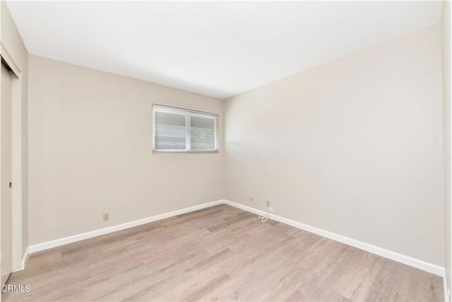 Front bedroom w vinyl plank floors
