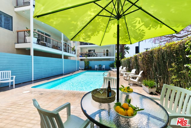 Enjoy a sun drenched pool deck