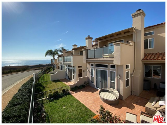 "This Malibu Luxury Townhome with Ocean View is available immediately. Three bedrooms, with 2.5 baths. One bedroom might be ""home office / zoom room / guest room"". Fresh ocean air, and community has only 38, two story townhomes. No one above or below you, and no shared elevators. High speed internet. A place to live, visit, and share. Close to the famous Zuma and Broad Beaches. A primary residence or second home, it is easy to lock and leave.  The living room slider connects you to outdoor living, with ocean view, yard, flowers, patio. The large bedroom is a suite design with bath w/ two sinks, a separate shower and jetted tub, built in vanity, and large walk-in closet. Large balcony through the slider, provides personal space to relax. Two car garage has direct access. Laundry room w/storage. HOA has pool, spa, gym, main entrance is gated. See photos, virtual tour, Matterport 3D, prior to requesting onsite visit. Call Listing Agent with any questions. Coronavirus protocols in effect"