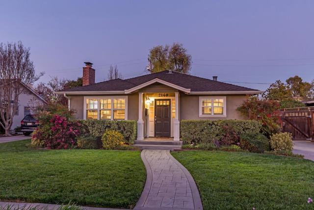 2140 Jonathan Avenue, San Jose, CA 95125