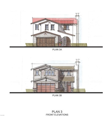 Plan 3A and 3B Front Elevation cropped