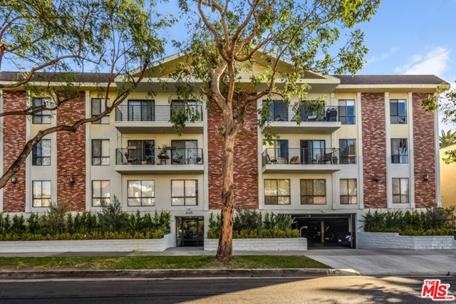 Updated Unit for Lease in prime and hip WEHO! Modern designer finishes include French Oak laminate flooring throughout, kitchen with stainless steel appliances, Caesarstone counters and backsplashes, and new cabinetry. This light and bright front-facing unit features a spacious living and dining area with a large open kitchen, a master bedroom, an enclosed den/2nd bedroom, 2 baths appointed with oversized showers, in-unit laundry, nest thermostat, great storage, and gated parking. Located a block from Melrose, which offers world-class shopping, dining, and other facets of entertainment. Photos may be of a different unit in the building.