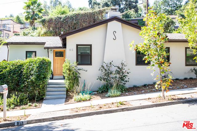 813 SUMMIT Drive, South Pasadena, CA 91030