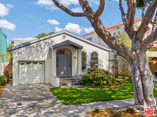 Located mid-block, on a quiet, treelined street in prime Sunset Park. This 2-story home offers an expanded floorplan with flexibility and utility rarely available in this price range, including 4 bedrooms, 3.5 bathrooms, plus a variety of public and private spaces to entertain, relax, study/work or play. Downstairs, enter a spacious living room with high vaulted ceilings, adjacent powder room, large formal dining room, cooks kitchen with stainless steel appliances and stone counters, 2 bedrooms, 2 guest baths, separate office/den/playroom (potential 5th bedroom), and at the rear of the home, a generous step-down family room opening to a wonderful yard, fully landscaped with grass, trees and patio space. Upstairs offers a primary bedroom suite with walk-in closet, crisp white bath with separate tub and shower, and a fourth bedroom/office/sitting room. Refinished hardwood floors, new carpet, new lighting, new landscaping and freshly painted inside and out. A hard-to-find package, located in the coveted Grant School district, and just blocks from parks, shops, restaurants, and cafes. An unbeatable value!