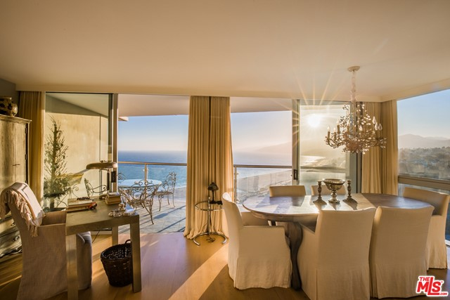 Exquisite property combined with perfection and location!  High on the 16th floor this unit offers unobstructed views up the coast to Malibu and beyond.  Totally remodeled and done with the utmost taste.  Two bedrooms, 2.5 baths, den/office, hardwood floors and an open kitchen with breakfast bar and top of the line appliances.  It's a must see!! Seller Financing is a strong possibility.