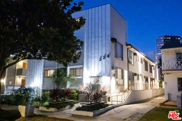 SELLER IS MOTIVATED. We are pleased to present the exclusive listing of 220 S Gale Drive, an 11--unit (one non-conforming) 1960s Gold Medallion apartment building in beautiful Beverly Hills. Family owned and operated for over fifty years, this modern-deluxe property has been meticulously cared for and recently remodeled from floor to ceiling one unit at a time with thorough restorations and immaculate detail including upgrades to copper piping, brand new wide-plank flooring, and recessed LED light fixtures throughout. The thoughtfully revamped kitchens feature all energy-efficient appliances including dishwashers, modern sinks with sleek Goose Neck faucets, and electric glass stove-tops. Bedrooms have large closets stretching the width of the room providing abundant storage space, and laundry is available on site for tenants convenience. (Pls inquire for full list of upgrades). One vacant unit has fire damage.