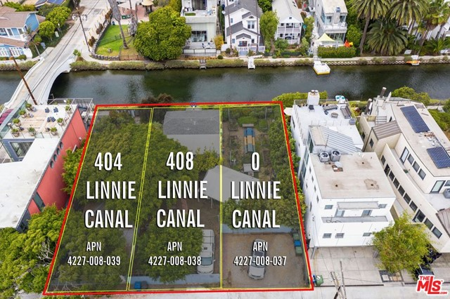 In a world-renowned neighborhood of charming and awe-inspiring homes, an extremely rare opportunity to purchase (3) contiguous lots on the historic Venice Canals. Refer to Parcels- APN #s 4227-008-037, 4227-008-038 & 4227-008-039. Each remarkable lot is offered at $1,795,000 individually or as a collection. Develop (3) Single Family Residences or build a generously sized trophy dream home. Currently there are 2 bungalow cottages in pleasing condition from the glory years of Venice before. Immediate access to the canals shoreline, just a short walk distance to Abbot Kinney designer shops and eateries and mere minutes from the famous Venice Beach. Bungalows may be larger than tax records indicate. Offers are due by Tuesday 9/21/21. Video attached to listing.