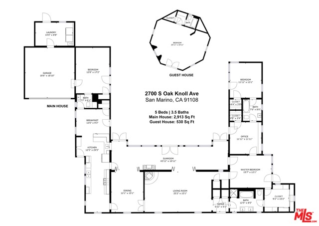 40. 2700 S Oak Knoll Avenue San Marino, CA 91108