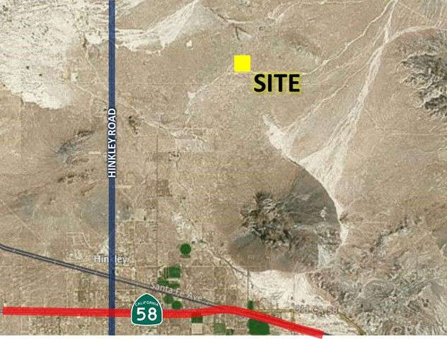 0 S of Fossil Bed Road, Hinkley, CA 92347