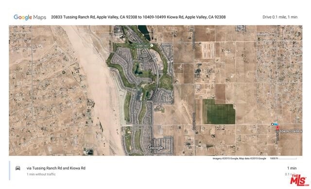 0 N/W Corner of KIOWA and Tussing Ranch Road Road, Apple Valley, CA 92308